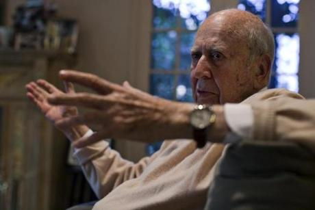 "Veteran comic actor, writer, and director Carl Reiner likes to put people and their work in the spotlight. ""The happiest I am is if I can tell somebody to go see a particular movie,"" he says."